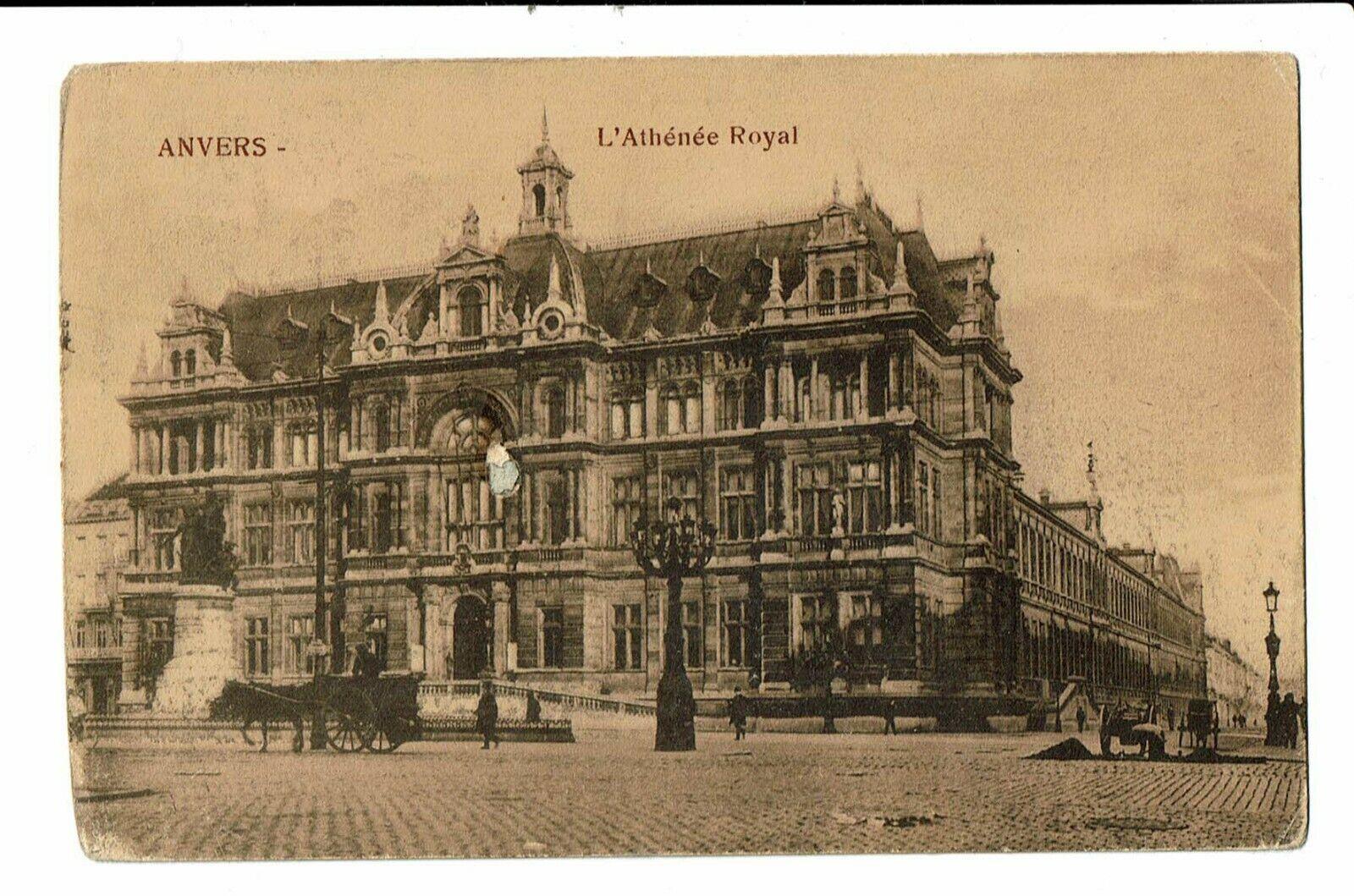 CPA-Carte postale-Antwerpen- Athénée Royal  VM656