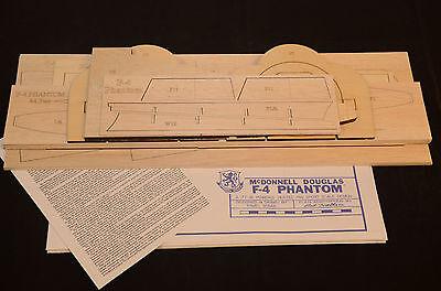 "F-4 PHANTOM II Short Kit, Plans & Instruction. 44.5""ws DUCTED FAN POWER"
