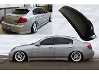 2005-2006 Painted Rear Roof Spoiler Wing For Infiniti G35 G45 B-Style 4D Sedan