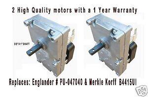 ENGLANDER PELLET STOVE AUGER MOTOR    [XP7100]  TWO PACK   PU-047040  VERY QUIET