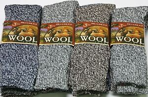 3-PAIRS-MENS-WOOL-BLEND-BOOT-HIKE-WORK-THICK-SOCKS-NEW