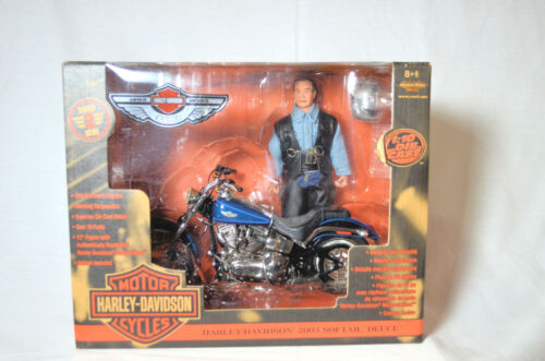 Harley 100th Anniversary 2003 Softail Deuce 1:10 Scale Replica NIB