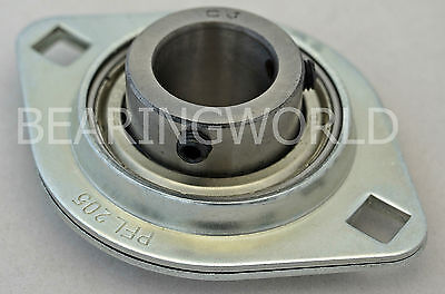 New Sbpfl204-12 High Quality 34 Set Screw Pressed Steel 2-bolt Flange Bearing