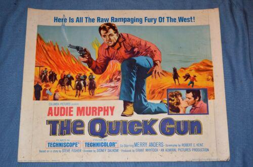 """Vintage Movie Poster, """"The Quick Gun"""" (1963)"""