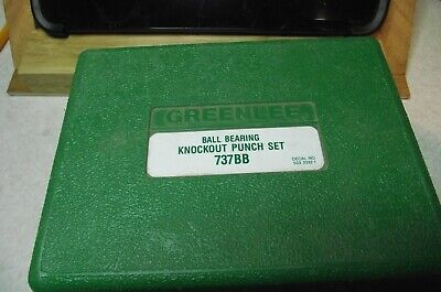 Greenlee 737bb Knockout Punch Driver Kit