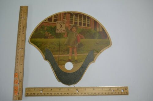 Vintage Funeral Hand Fan Knoxville, Iowa