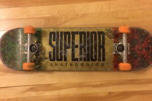 Superior skateboard setup