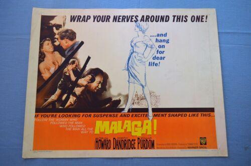 "Vintage Movie Poster,  ""Malaga"" (1962)"