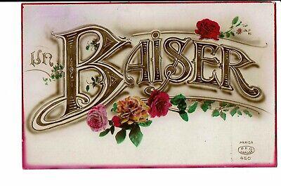 CPA - Carte Postale Belgique Un Baiser--1925 -VM2565
