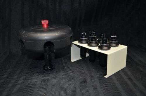 Beckman Coulter SW28 Centrifuge Swinging Bucket Rotor + 6 Tubes + Stand
