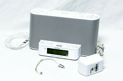 Sony Dream Machine ICF-CS10iP AM/FM Dual Alarm Clock Radio iPhone Dock ONLY (M4)