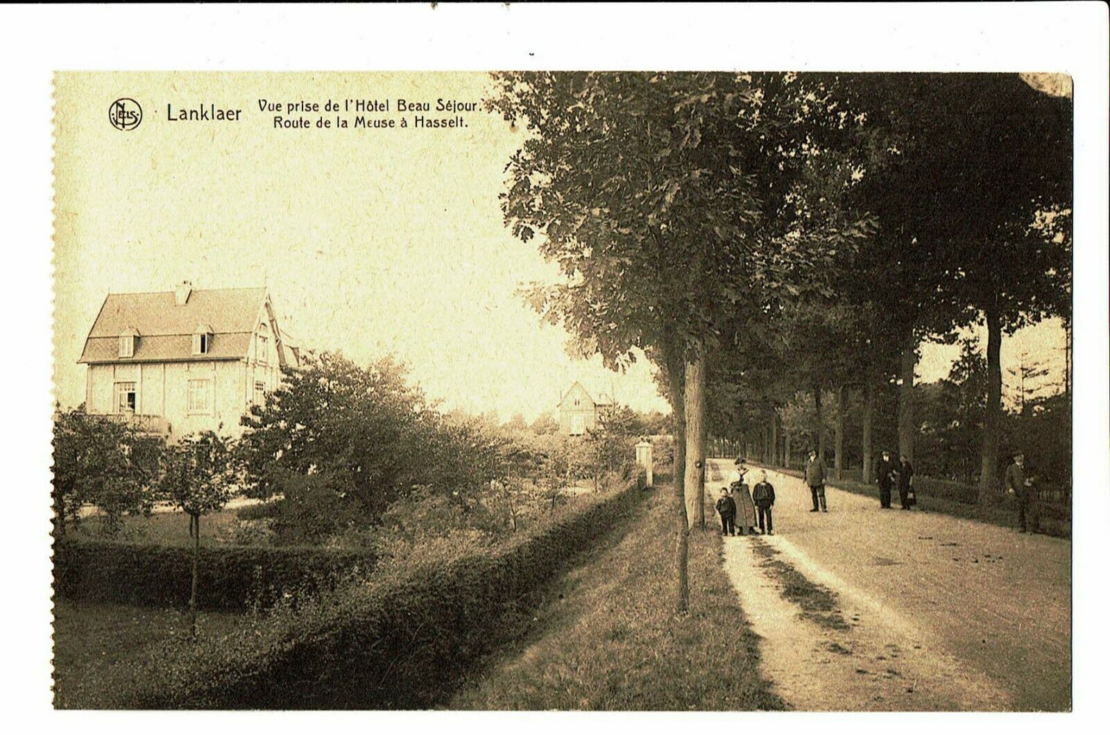 CPA - Carte postale-Belgique Lanklaer-Stockhelm-Vue prise de l'hotel Beau séjour