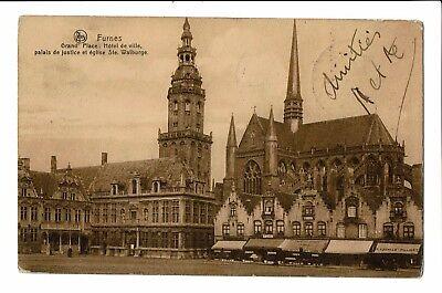 CPA-Carte postale- BELGIQUE -Veurne - Grand Place -1911-S2929