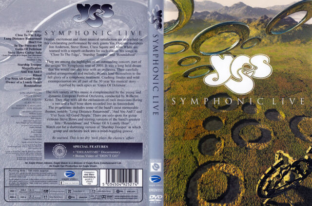 Yes - DDVD - Symphonic Live - Live 2001 and More- Discs von 2002 - ! ! ! ! !