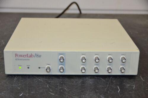 Adinstruments Ml785 Powerlab 8sp 8-input Channel Data Aquisition System