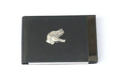 T-rex Stegosaurus Diplodocus And More Pu Card Holder Black Dinosaur Gift