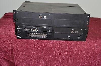 Toshiba Strata Cix System Control Cards Lctu2a Mipu16-1a Bslu1a Telephone Phone
