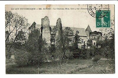 CPA-Carte postale  FRANCE-Assier - Son Château-1914-S4652