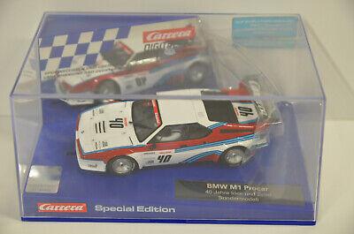 6 ) Carrera 30799 Digital 132 BMW M1 Procar 40 Jahre Idee und Spiel Sondermodell