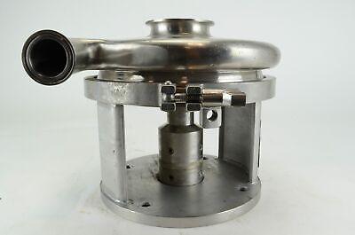 Waukesha Model C218 3x1 12 Centrifugal Stainless Pump Sanitary Flange
