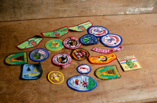 Vintage Boy Scout Patches Lot of patches
