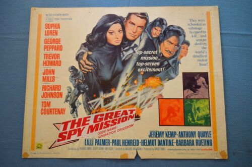 """Vintage Movie Poster,  """"Operation Crossbow"""" (1965)"""