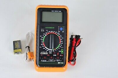 Mastech My64 Digital Multimeter Dmm Frequency Capacitance Temperature Hfe Test