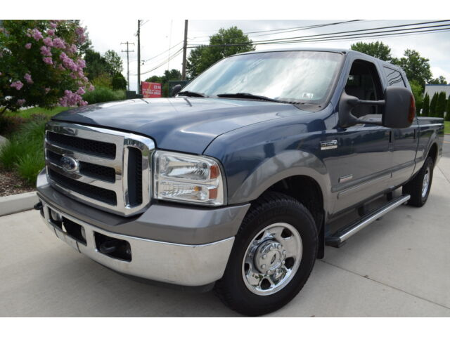 2006 FORD F-250 CREW CAB TURBO DIESEL 1 OWNER LOW MILES NO RESERVE