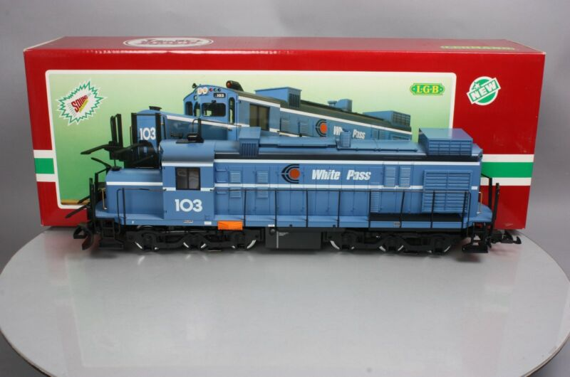 LGB 21552 G Scale White Pass Diesel Locomotive with Sound - RARE! EX/Box