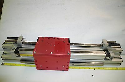 Afag Pneumatic Linear Motion Table Pmp Series Gantry Module New