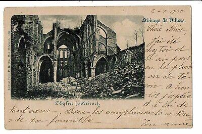 CPA -Carte postale Belgique- Villers la Ville- Son Abbaye - l'Eglise-1900 VM1298