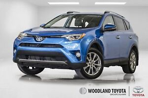 2017 Toyota RAV4 Hybride / Limited / GPS / CUIR / TOIT / MAGS ++