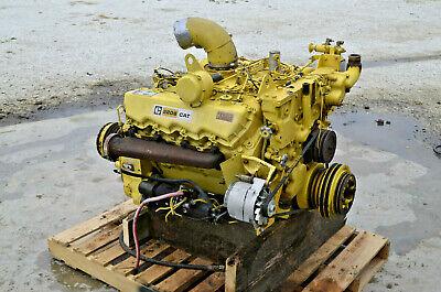 Caterpillar Cat 3208 Complete Diesel Engine Na 175hp