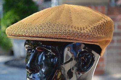Classic Mesh Ivy Newsboy Cap Driving Cabbie Golf Breezer Vented Pub Hat 19 Color