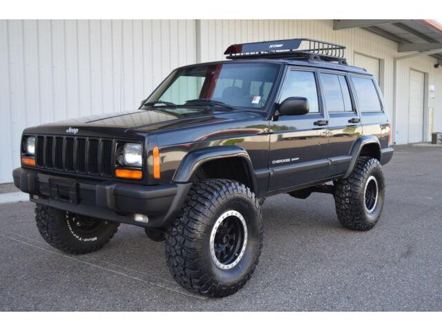 2001 jeep cherokee sport 4x4 xj fully built 4 5 zone lift bfg 33 39 s wrangler used jeep. Black Bedroom Furniture Sets. Home Design Ideas
