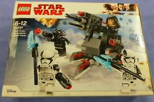 LEGO STAR WARS FIRST ORDER SPECIALISTS BATTLE PACK - BRAND NEW Campbelltown Campbelltown Area Preview