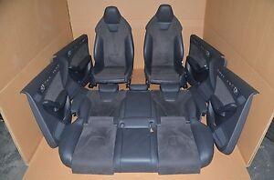 Audi-RS4-8K-Avant-Lederausstattung-Leder-Sitzausstattung-Schwarz-A4-S4-Leather