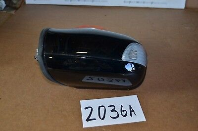 (01 02 03 04 05 06 MERCEDES-BENZ C320 DRIVER side Power Mirror Used BLACK #2036-A)