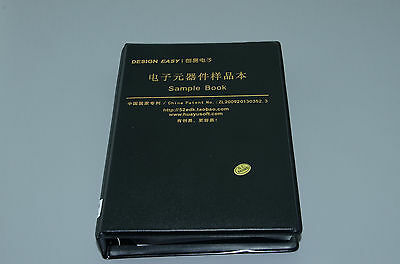 0805 1 Smd Smt Chip Resistorscapacitors Assortment Kit 80 Sample Book M027 Ql