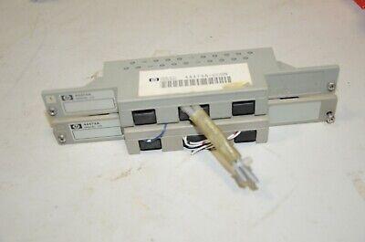 Hp Agilent 44471a 44473a 44474a 44492a Connector Terminal Relay Block 3488a 3499