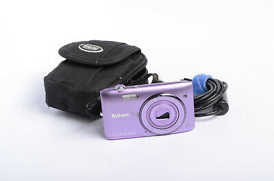 Nikon COOLPIX S3500 20.1MP Digital Camera - Purple