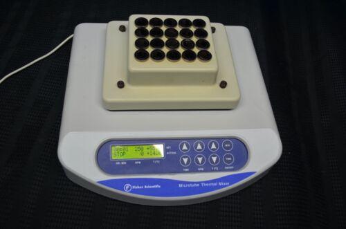 Fisher Scientific Microtube Thermal Mixer 15600115 Thermoshaker