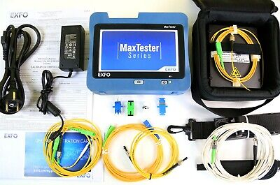 New Exfo Max-720c-sm1-ei Sm Otdr Iolm 13101550 3635db