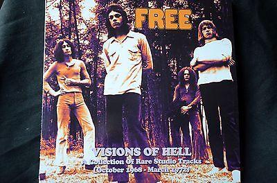 "Free Visions Of Hell Rare Studio Tracks 1968 - 1972 2 x 12"" vinyl LP New"