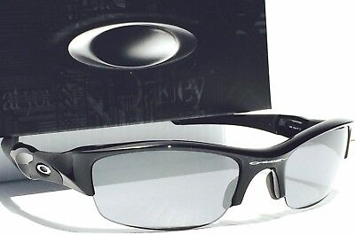 NEW* Oakley FLAK JACKET in BLACK with Black Iridium Lens Sunglass oo9009 03-881