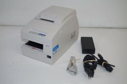 Epson TM-U675 M146B POS Receipt Printer- White