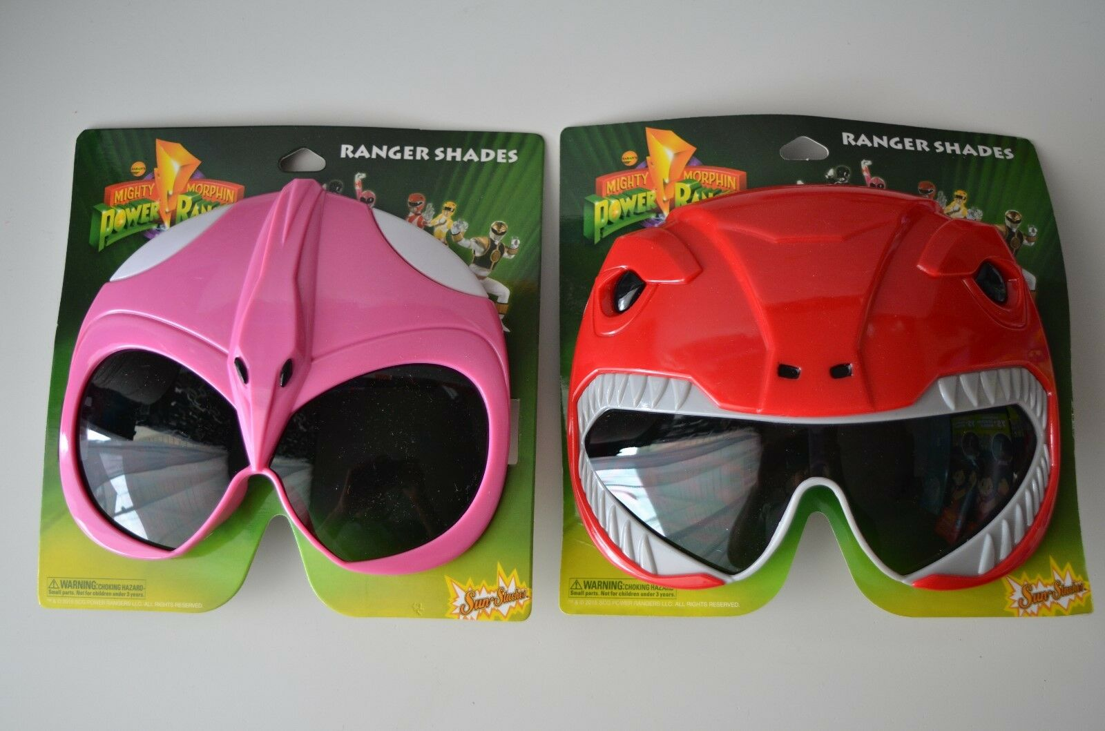 H2W Officially Licensed Pink Power Rangers Sunstaches Sunglasses by H2W
