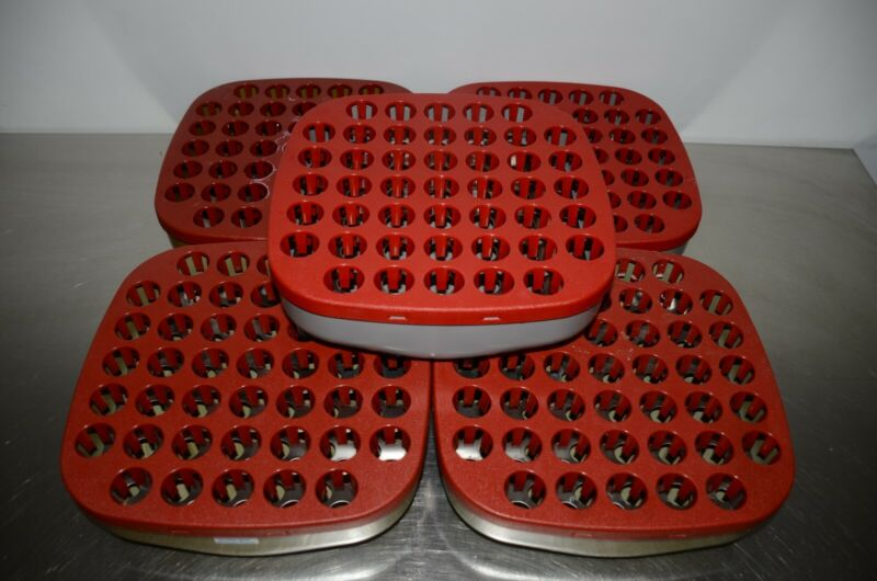 GE Cytiva Frac-950 Fraction Collector Rack D Complete w/Bowl for 30mm Tubes