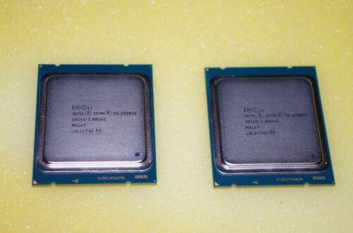 Matched Pair (2) Intel E5-2690 V2 SR1A5 CPU 10C 3.0GHz 25MB Grade A USA Seller!