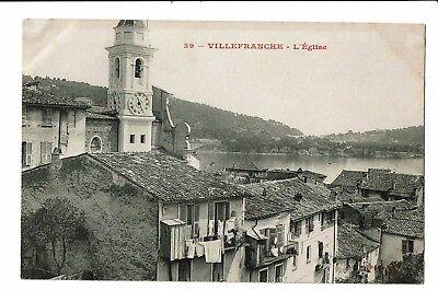 CPA-Carte postale- FRANCE -  Villefranche-sur-Mer son Eglise -S3443